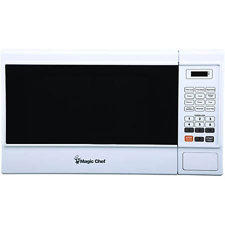 Magic Chef® 1.3 Cu Ft Countertop Microwave, White