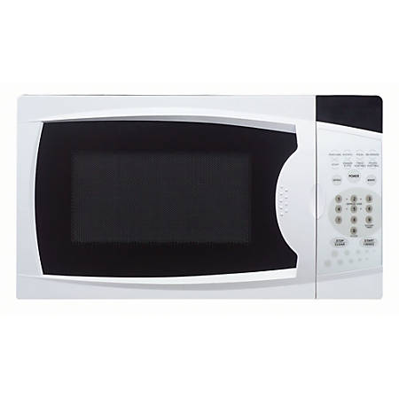 Magic Chef 0.7 cu. ft. Countertop Microwave Oven - Single - 5.24 gal Capacity - Microwave - 10 Power Levels - 700 W Microwave Power - Glass - Countertop - White