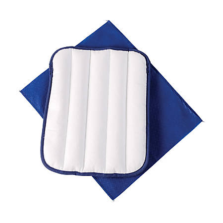 """HealthSmart® TheraBeads Joint Pain Relief Packs, 5"""" x 11"""", Blue/White, Pack Of 10"""