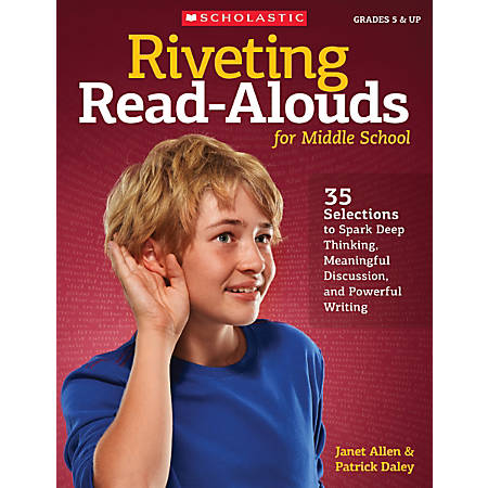 Scholastic Teacher Resources Riveting Read-Alouds For Middle School, Grades 5-8