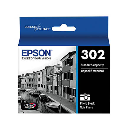 Epson® Claria T302120-S Black Ink Cartridge