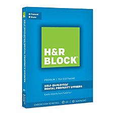 H R Block Premium 2017 Tax