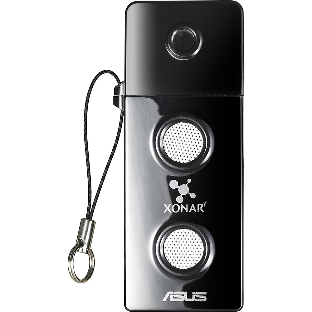 Asus Xonar U3 External Sound Box - External - ASUS UA100 USB Audio Chip - USB - 100 dB - 1 x Number of Audio Line In - 2 x Number of Audio Line Out -