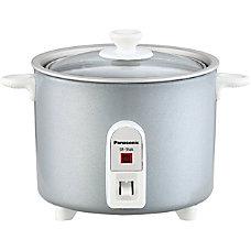 Panasonic SR 3NAL Cooker Silver