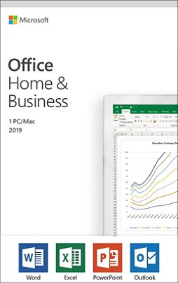Microsoft® Office, Home And Business 2019, For 1 PC Or Mac Device, Product  Key Card Item # 9725865