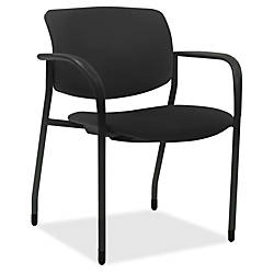 Lorell Stack Chairs with Plastic Seat