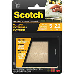 Scotch Outdoor Fasteners 1 Width x