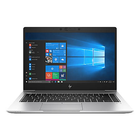 "HP EliteBook 745 G6 Laptop, 14"" Screen, AMD Ryzen 7, 8GB Memory, 256GB Solid State Drive, Windows 10 Pro, 8GC38US"