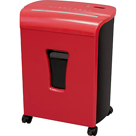 Sentinel™ 10-Sheet Micro-Cut Shredder, Red, FM101P-RED