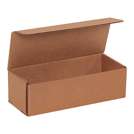 """Office Depot® Brand Corrugated Mailers, 3""""H x 4""""W x 10""""D, Kraft, Pack Of 50 Mailers"""
