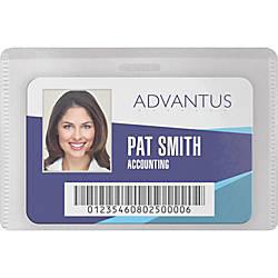 Advantus DIY Magnetic Name Badge Kit