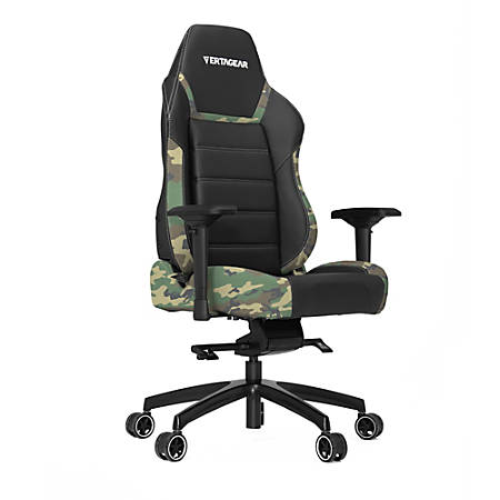 Vertagear Racing Series P-Line PL6000 Gaming Chair, Black/Camouflage
