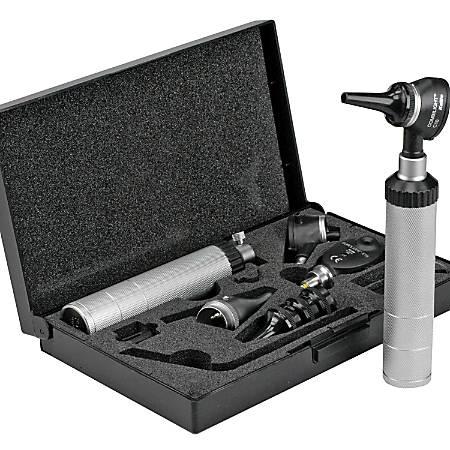 KaWe COMBILIGHT® C10 Otoscope And EUROLIGHT® E10 Ophthalmoscope Basic Kit, Silver