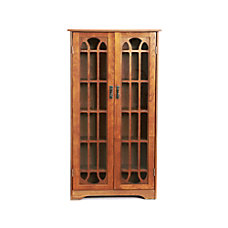 Southern Enterprises Window Pane Media Cabinet