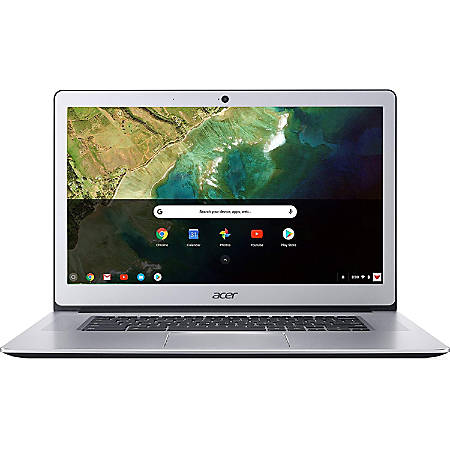 "Acer® Refurbished Chromebook, 15.6"" Screen, Intel® Pentium®, 4GB Memory, 32GB Flash Storage, Google™ Chrome OS, NX.GPTAA.002"