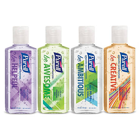 Purell® Scented Hand Sanitizer, 4 Oz, Assorted Scents