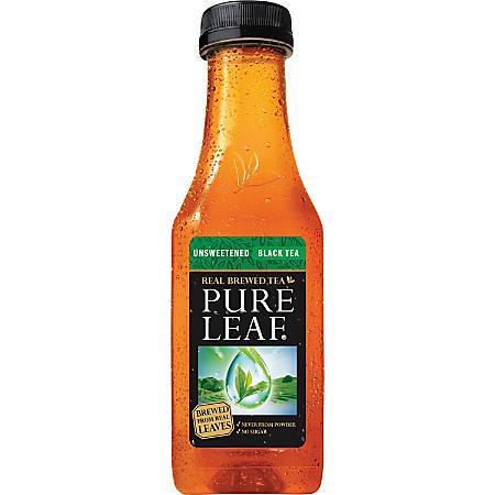 Pure Leaf Unsweetened Black Tea - Black Tea - 1.12 lb - 12 / Carton