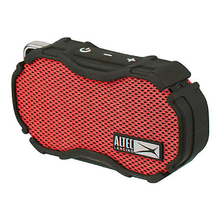 Altec Lansing® Baby Boom Portable Speaker, Red/Black, IMW269-RDB