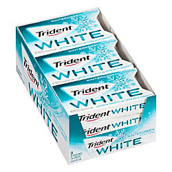 Trident White Wintergreen Sugar Free Gum
