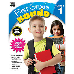 Thinking Kids Bound Workbook First Grade