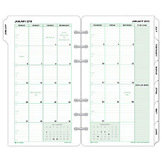 Day Timer Monthly Planner Refill 3