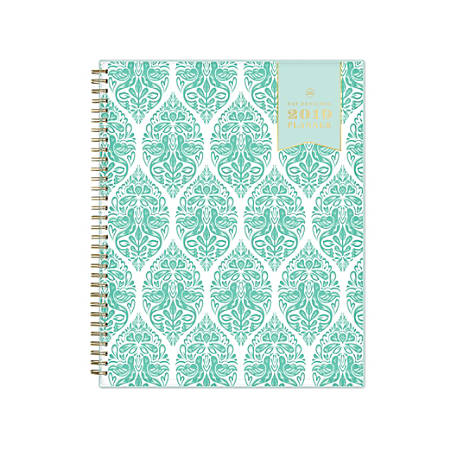"""Day Designer® for Blue Sky Weekly/Monthly Planner, 11"""" x 8 1/2"""", Woodcut, January to December 2019"""