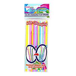 LNI Color Change Flexible Straws Assorted
