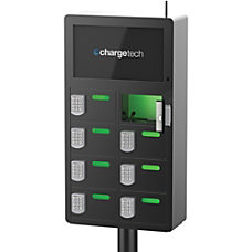 ChargeTech 8 bay Top Video Charging