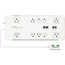 Compucessory Slim 10 Outlet Surge Block