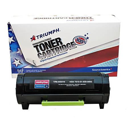 (Lexmark™ 50F0UA0/50F1U00/50F1U0E) Extra-High-Yield Remanufactured Black Toner Cartridge (AbilityOne 7510-01-659-0093)