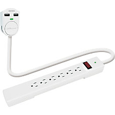 Compucessory 6 Outlet Power Strip 6