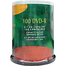 Compucessory DVD Recordable Media DVD R