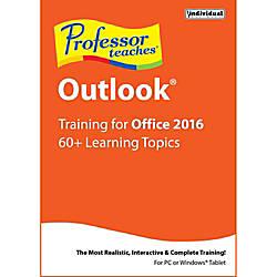 Professor Teaches Outlook 2016 Download Version