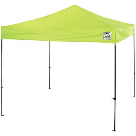 Ergodyne Instant Shelter Canopy - Canopy StyleLime - Steel, Polyester, Polyurethane