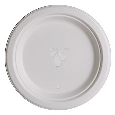 Highmark Compostable Plates 9 White Pack