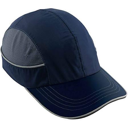Ergodyne Skullerz® Bump Cap, 8950 Long Brim, Navy