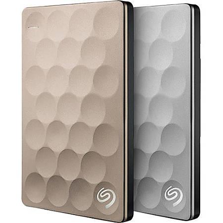 Seagate Backup Plus Ultra Slim STEH1000100 1 TB Hard Drive - External - Portable