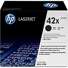 HP 42X Black Original Toner Cartridge