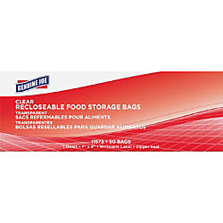 Genuine Joe Food Storage Bags 1