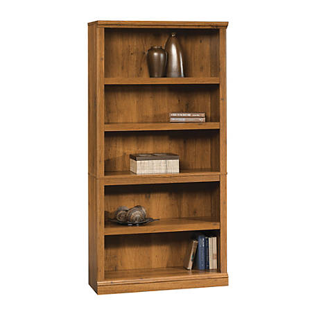 Sauder® Select Bookcase, 5 Shelf, Abbey Oak