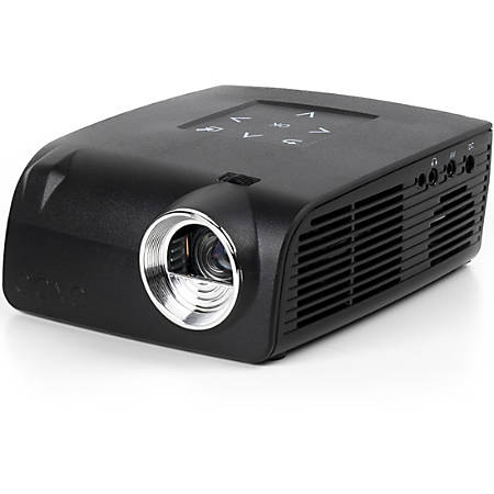 AAXA Technologies S2 DLP Projector - 16:9 - Black - 1280 x 720 - Front - 720p - 30000 Hour Normal ModeHD - 1,000:1 - 400 lm - HDMI - USB