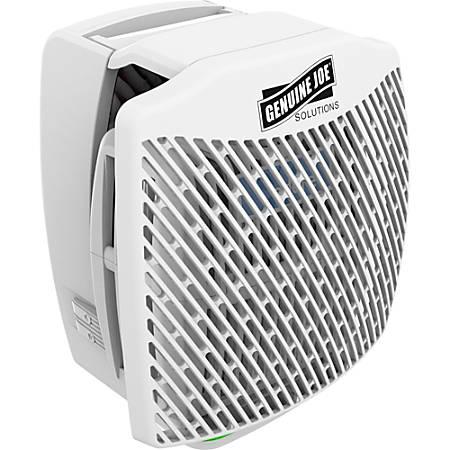 Genuine Joe Air Freshener Dispenser System - 30 Day(s) Refill Life - 44883.12 gal Coverage - 1 Each - White