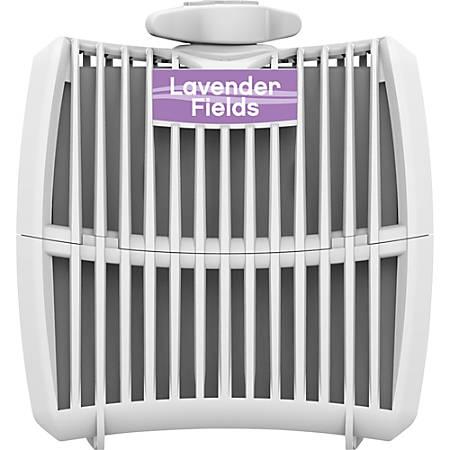 Genuine Joe Air Refreshener Refill Cartridge - Lavender Field - 12 / Carton - Long Lasting, Odor Neutralizer