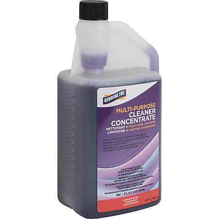 Genuine Joe Lavender Concentrated Multipurpose Cleaner - Concentrate Liquid - 0.25 gal (32 fl oz) - Lavender ScentBottle - 1 Each - Purple