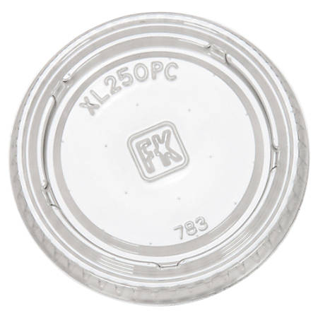 Fabri-Kal® Portion Cup Lids, For 1.5 Oz - 2.5 Oz Cups, Clear, Pack Of 2,500 Lids