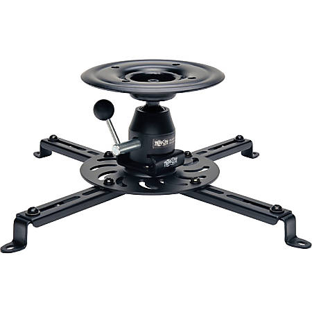 Tripp Lite Display Projector Universal Ceiling Monitor Mount Full Motion - Ceiling mount for projector (full-motion) - steel - black