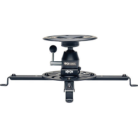 Tripp Lite Display Projector Universal Ceiling Monitor Mount Full Motion - 55 lb Load Capacity - Black