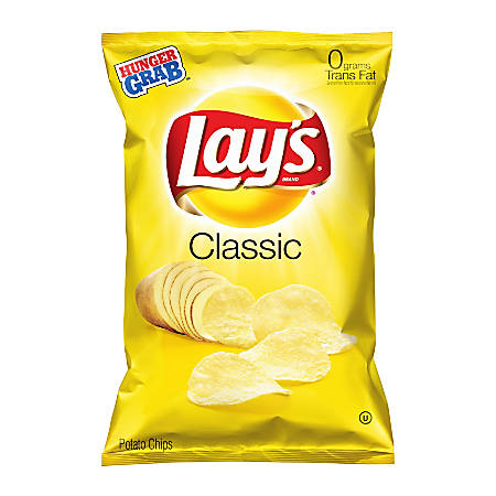 LAY'S® Classic Potato Chips, 2.5 Oz