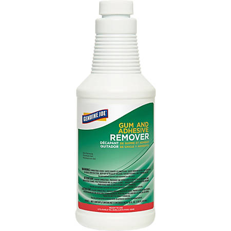 Genuine Joe Gum and Adhesive Remover - Ready-To-Use Gel - 0.13 gal (16 fl oz) - 1 Each - White