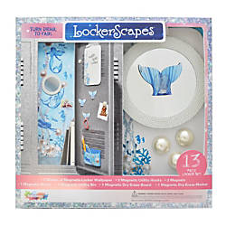 Inkology 10 Piece Locker Accessory Set